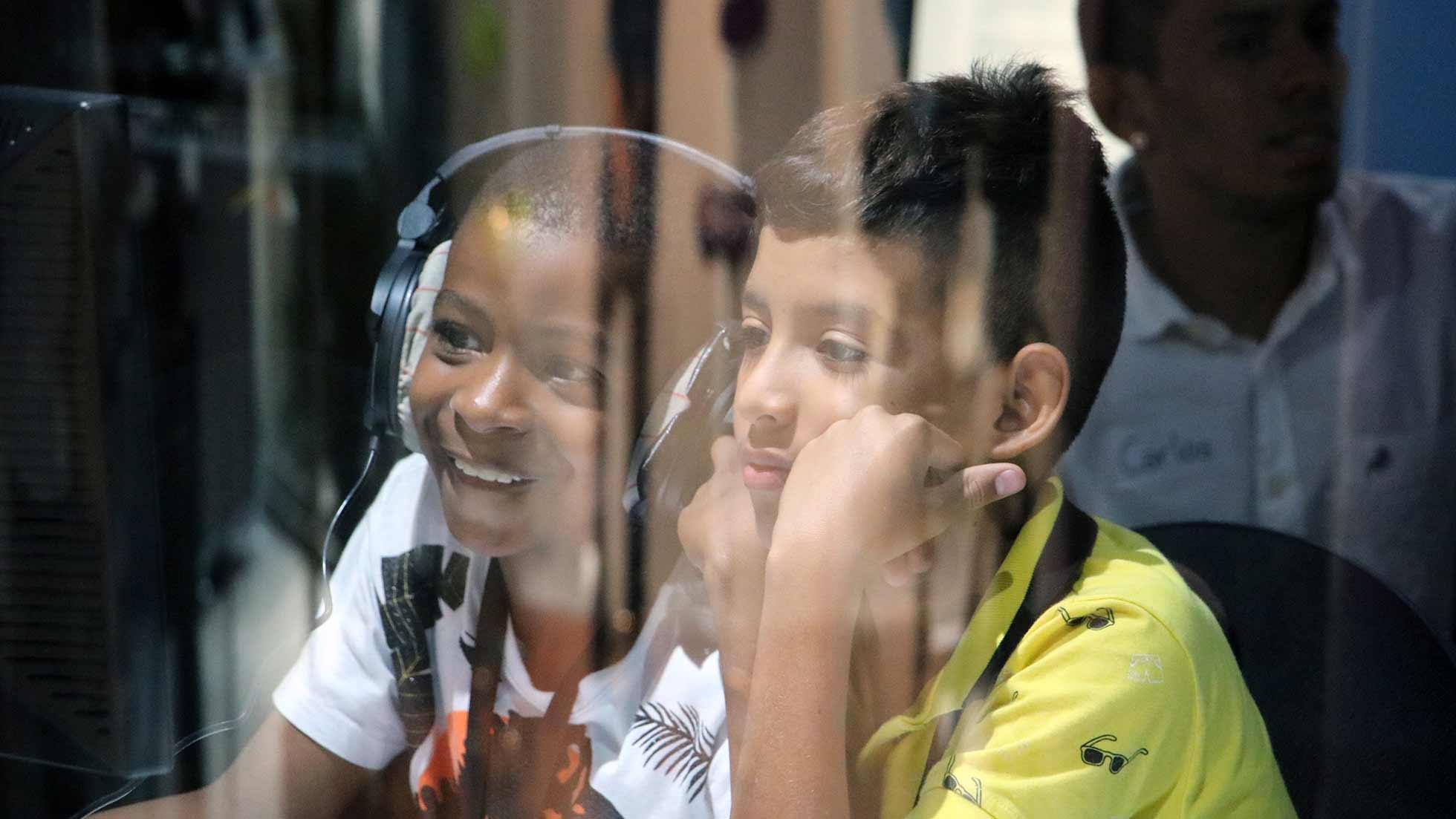 Niños niñas y adolescentes en Cali, Colombia