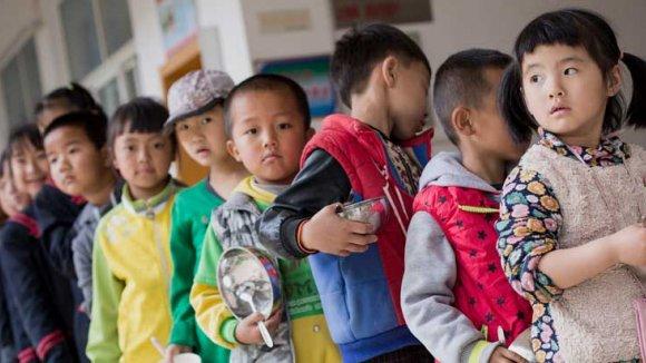 Coronavirus - Niños chinos