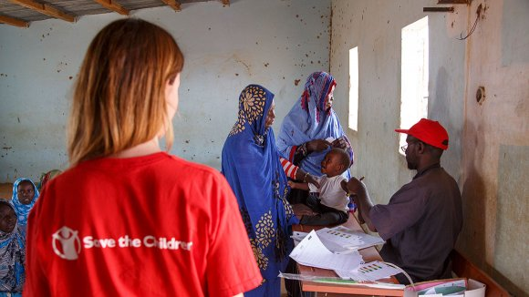 Save the Children en Mauritania