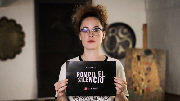 Rompo el silencio contra el abuso sexual infantil