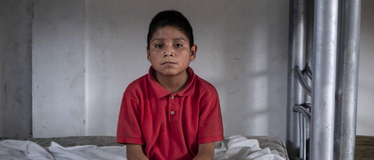 Luis en el centro de detención de menores